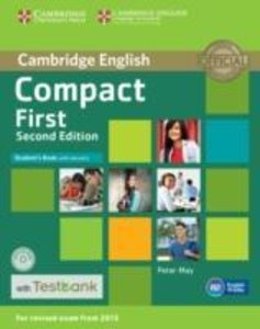 Compact First Student's Book with Answers with CD-ROM with Testb