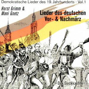 Lieder Des Deutschen Vor-& Nachmärz