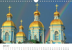 Goldenes Russland (Wandkalender 2017 DIN A4 quer)