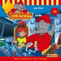 Benjamin Blümchen 030 als Pilot - zum Schließen ins Bild klicken