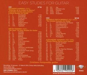 Easy Studies For Guitar Vol.1
