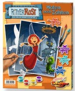 Schipper 609200649 - Ritter Rost und Burgfräulein Bö: MNZ, Malen