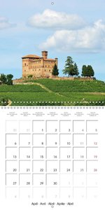 Langhe - In the heart of Piedmont (Wall Calendar 2015 300 × 300
