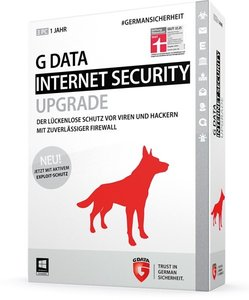 G Data InternetSecurity 2015 Upgrade - Schutz für 1 Jahr/3 PCs