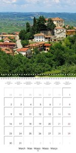 Langhe - In the heart of Piedmont (Wall Calendar 2015 300 × 300