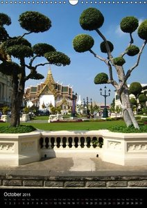 The Grand Palace Bangkok (Wall Calendar 2015 DIN A3 Portrait)