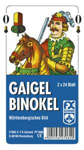 Gaigel, Binokel - Württembergisches Bild