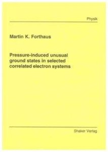 Pressure-induced unusual ground states in selected correlated el