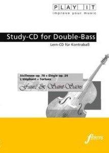 Study-CD Double-Bass Sicilienne op.78+Elegie op.24