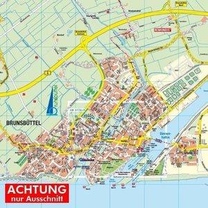 Brunsbüttel 1 : 20.000 Posterplan