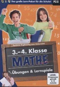 Mathe Übungen und Lernspiele 3.-4. Klasse