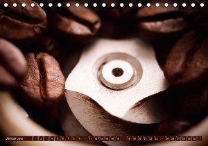 Bohnen, Schaum & Plätzchen - Kaffeegenuss (Tischkalender 2016 DI