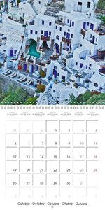 Santorini Pearl of the Greek Isles (Wall Calendar 2015 300 × 300