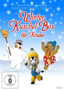 Winter-Kuschel-Box Für Kinder (Frosty,Zeo,Petzi)