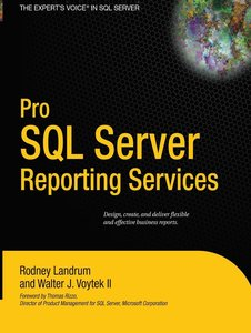 Pro SQL Server Reporting Services