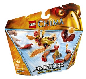 LEGO® Chima Speedorz 70155 - Feuer Höhle