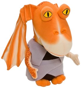 Joy Toy 741857 - Star Wars Jar Jar Plüsch, 23 cm