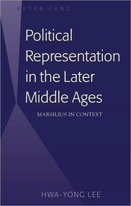 Political Representation in the Later Middle Ages