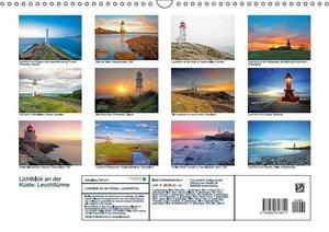 CALVENDO: Lichtblick an der Küste: Leuchttürme (Wandkalender
