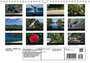 Australia - Wildlife and Wilderness (Wall Calendar 2015 DIN A4 L
