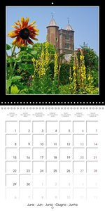 England Southeast 2015 (Wall Calendar 2015 300 × 300 mm Square)