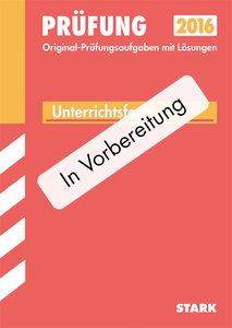 Abiturprüfung Pädagogik/Psychologie 12. Klasse FOS/BOS Bayern
