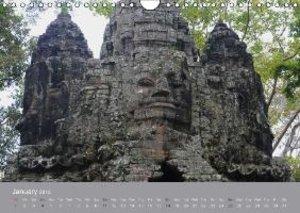 Angkor petrified giants (Wall Calendar 2015 DIN A4 Landscape)