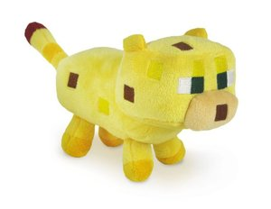 Minecraft 16534 - Baby Ocelot Stofftier, 18 cm