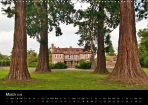 The Lovely Gardens of South England (Wall Calendar 2015 DIN A3 L
