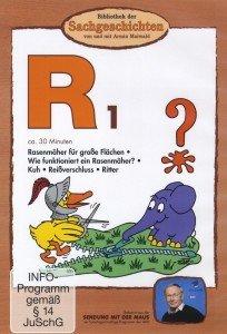 (R1)Rasenmäher,Rind,Reißverschluss,Ritter