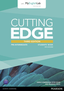 Cutting Edge Pre-Intermediate Students' Book with DVD and MyEngl