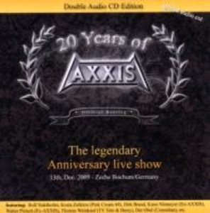 """20 Years Of Axxis """"The Legendary Anniversary Live"""