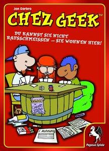 Pegasus Spiele 17300G - Chez Geek: Das WG-Kartenspiel