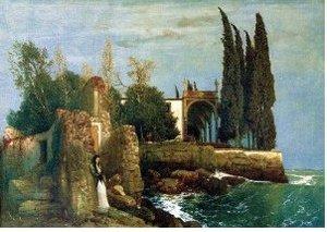 Ravensburger 14022 - Arnold Böcklin: Villa am Meer, 300 Teile Pu