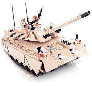 Cobi 21905 - Panzer Challenger I, RC mit Infrarot Bluetooth und