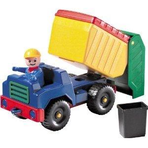 Lena 01423 - Mini robuster Müllwagen
