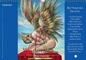Tarot / Geburtstagskalender (Wandkalender immerwährend DIN A3 qu