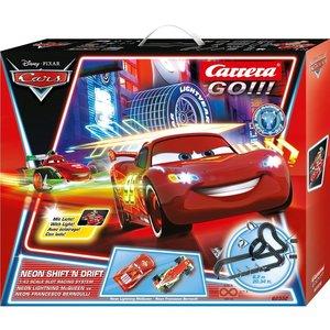 Carrera 20062332 - Go!!! Disney Pixar Cars: Neon Shift N Drift,