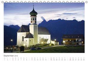 Montafon (Tischkalender 2016 DIN A5 quer)