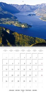 Holiday greetings from the upper Italian lakes (Wall Calendar 20