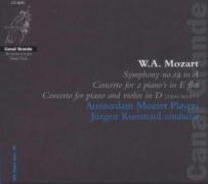 Sinfonie 29/Concerto for 2 Pianos KV 365