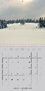 Paysages enneigés (Calendrier mural 2015 300 × 300 mm Square)