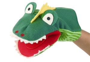 Kersa 12492 - Krokodil Klappi KERSA Classic, 33 cm