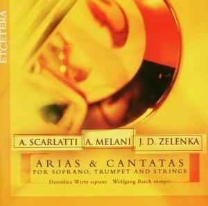 Cantatas Soprano/Trumpet/Strings