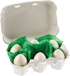 HABA 1368 - 6 Eier im Karton, Kaufmannsladen-Zubehör