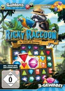 GaMons - Ricky Raccoon: Der Schatz am Amazonas (3-Gewinnt-Spiel)