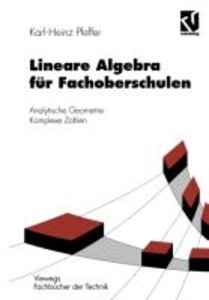 Lineare Algebra für Fachoberschulen