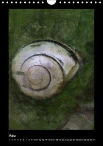 Painting Artwork (Wandkalender immerwährend DIN A4 hoch)