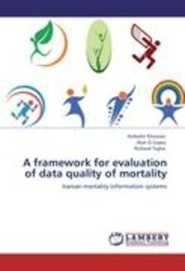A framework for evaluation of data quality of mortality