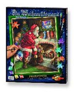 Schipper Malen nach Zahlen - Der Weihnachtsmann am Kamin